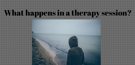 What happens in a therapy session